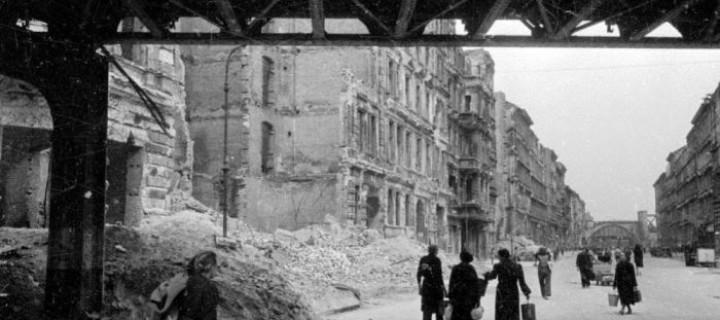 Berlin in Ruins in 1945
