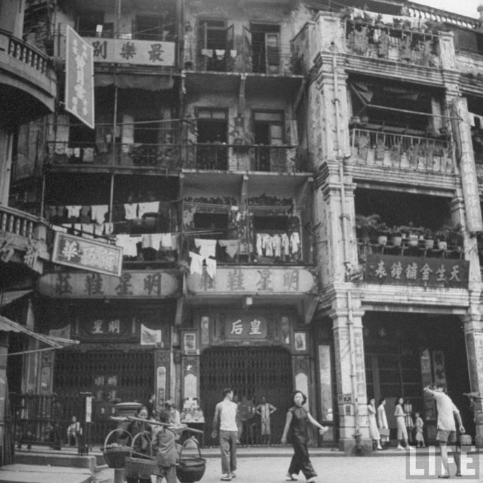 City-life-Hong-Kong-1945-07