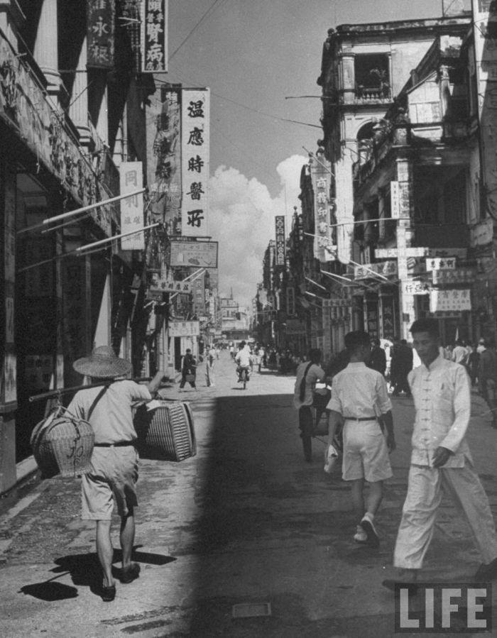 City-life-Hong-Kong-1945-08
