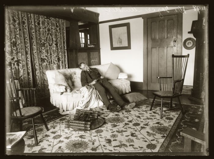 Scene of the shooting murder of Dr Claude Tozer, at the home of Dorothy Mort, Lindfield, NSW, 21 December 1920.
