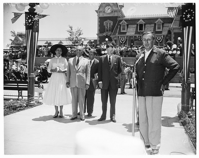 Image result for disneyland opened 1955