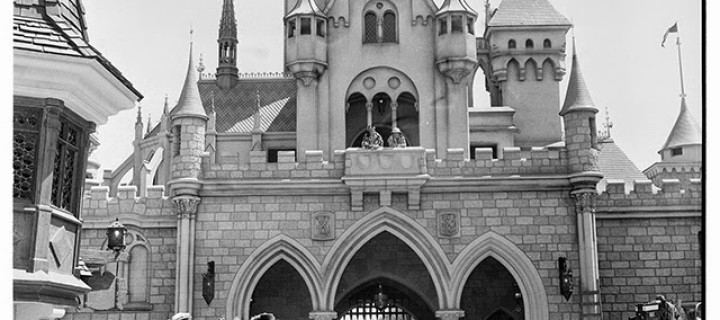 Disneyland in Opening Day, July 17, 1955