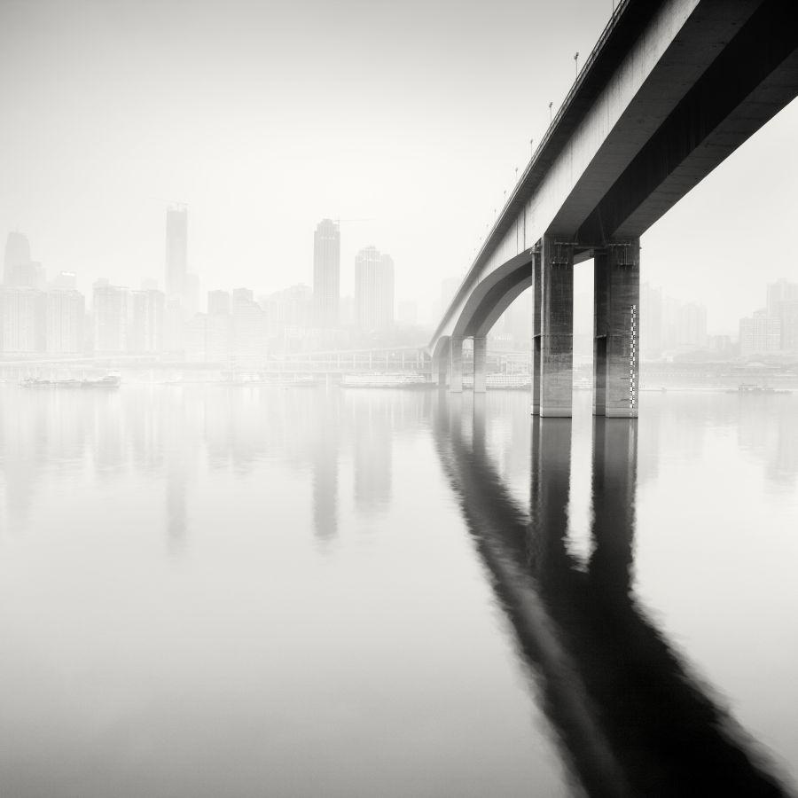 © Martin Stavars Jia Ling Jiang Bridge, Study 1, Chongqing, China, 2012