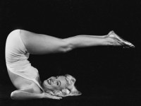 Marilyn Monroe doing Yoga in 1948