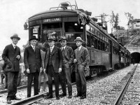 Pacific Electric Subway opening celebrations in Los Angeles (1925)