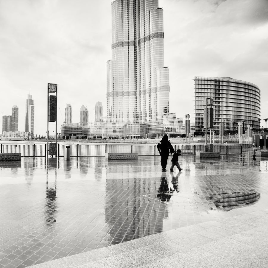 © Martin Stavars Reflection of the Burj Khalifa, Dubai, UAE, 2010