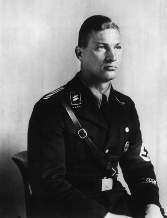© August Sander - Member of Hitler's S.S. Guard (Col. 1938)