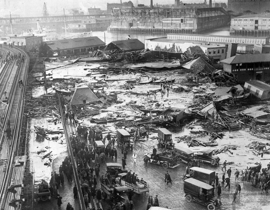 The Boston Molasses Disaster of 1919 | MONOVISIONS