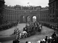 Black and White photos of Historic Royal Weddings