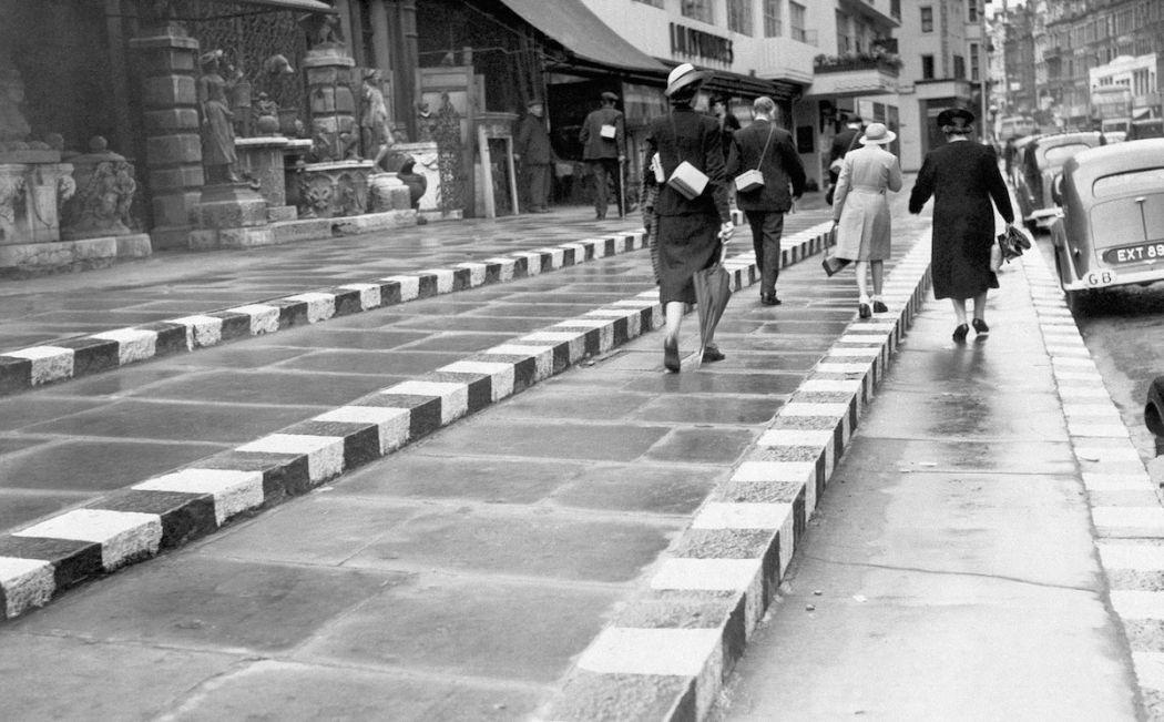 WWII London Blackout Markings