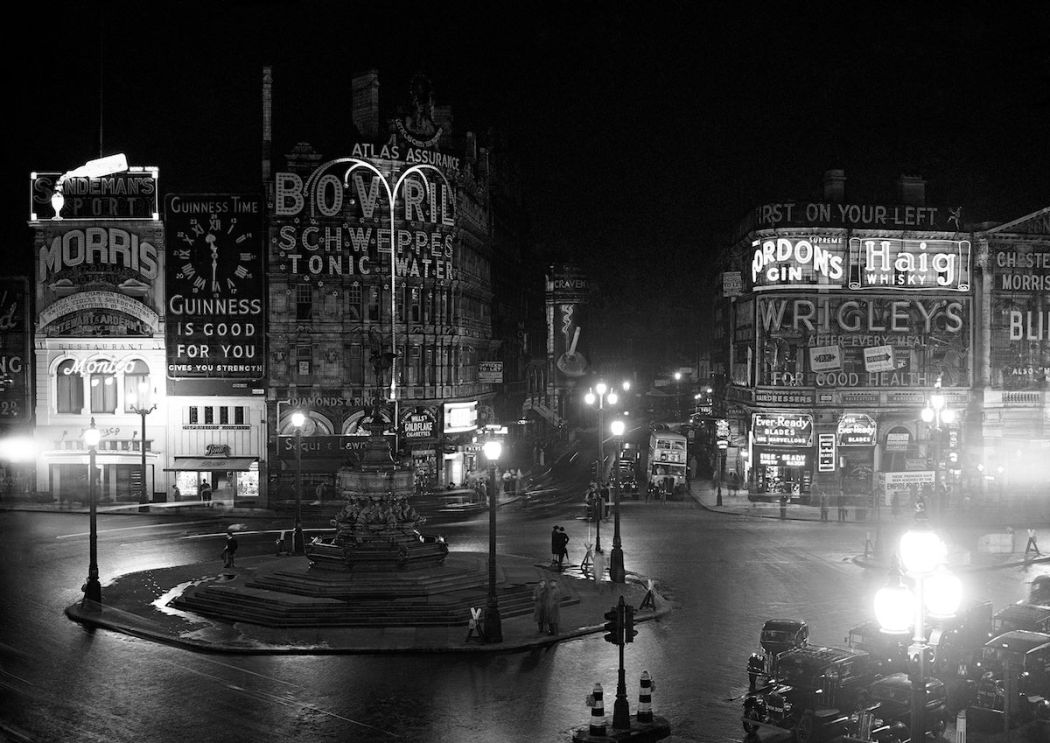 London Night View Before Great Black-out
