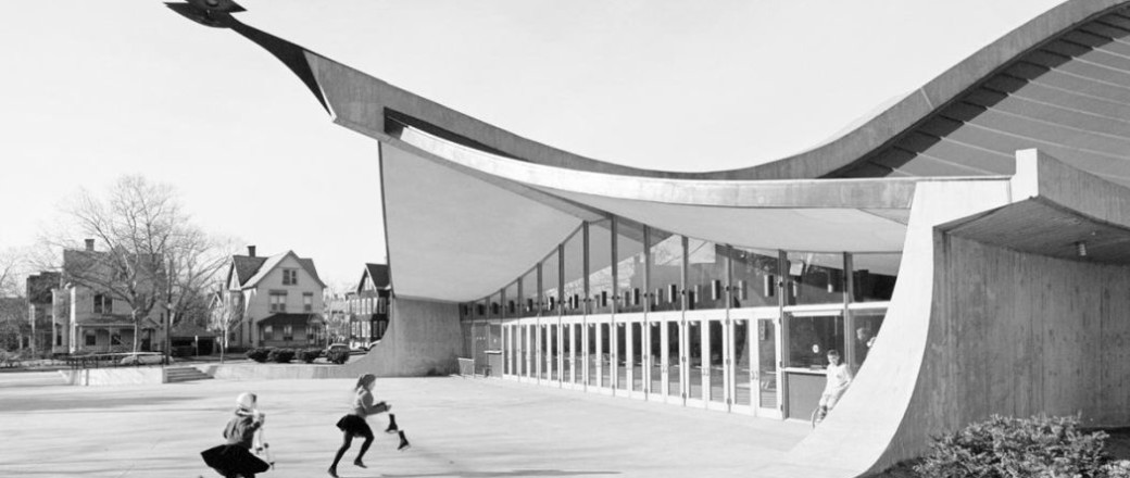 neofuturistic architecture of eero saarinen 1950s and 60s On architecture 1950
