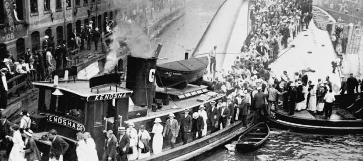 Vintage: The Eastland disaster (1915)