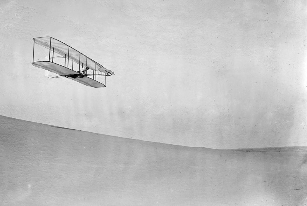 Wright brothers & the fist plane