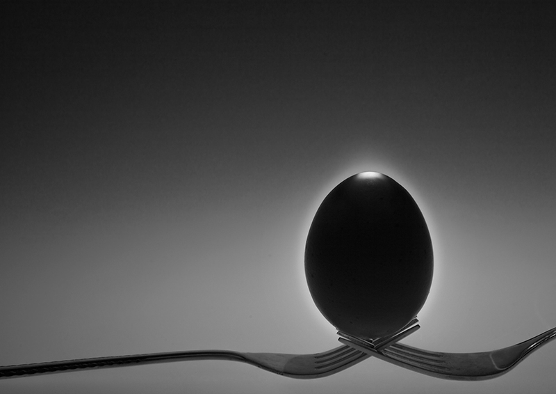 Egg Eclipse © Wei Jiang – Honorable Mention in Abstract, Professional