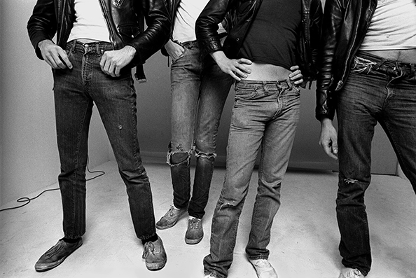 Norman Seeff The Ramones, New York, 1977