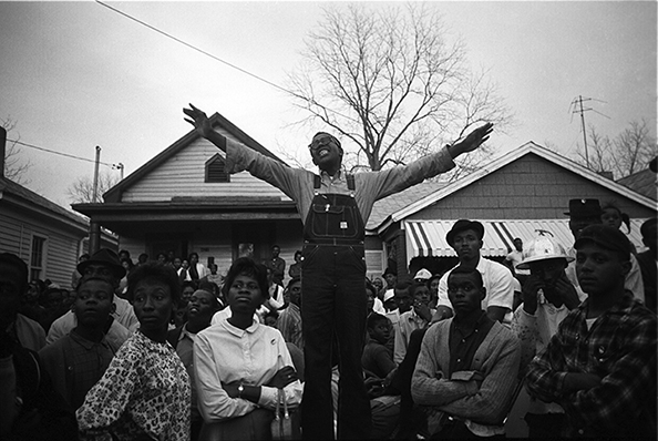 Steve Schapiro Selma Organizer, 1965