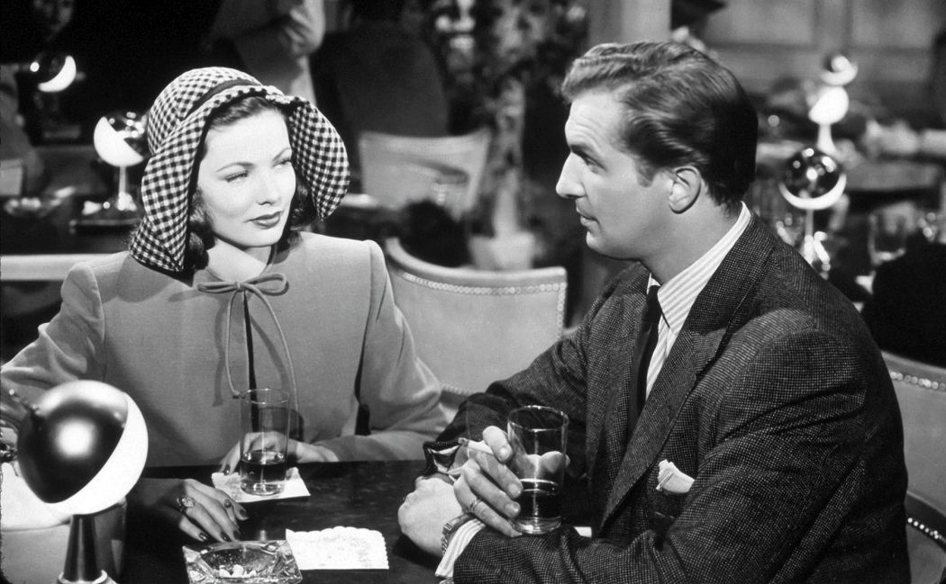 Laura 1944 Gene Tierney and Vincent Price