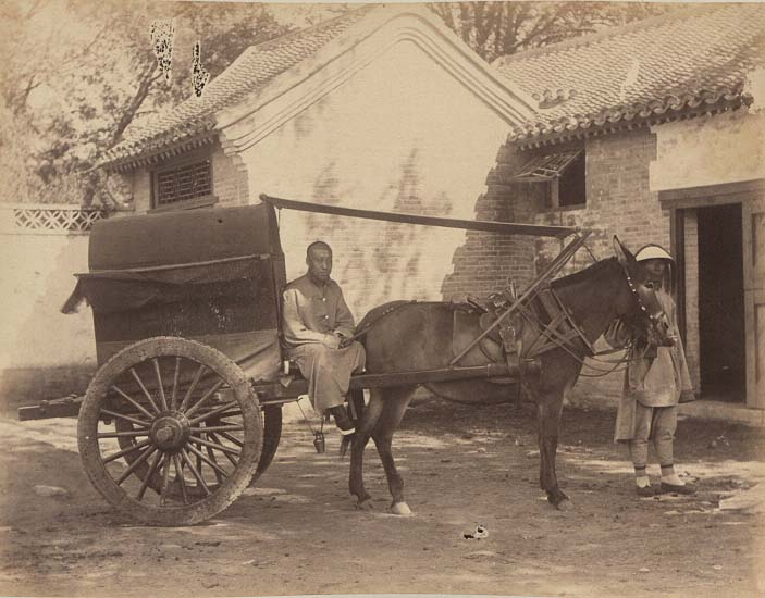 China-1889-1891-Peking Cart