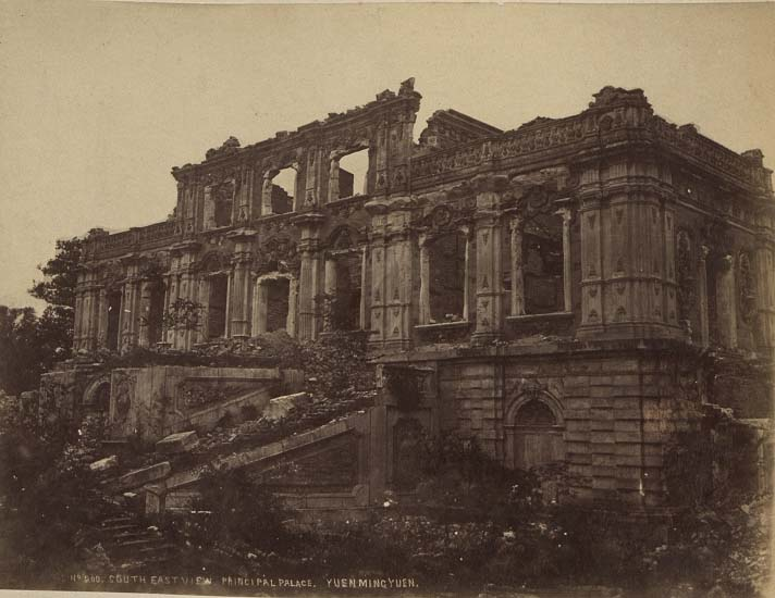 China-1889-1891-Ruins of Yuen Ming Yuan