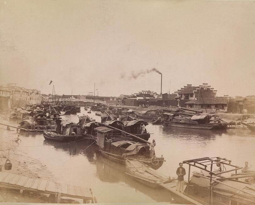 China-1889-1891-Suzhou River