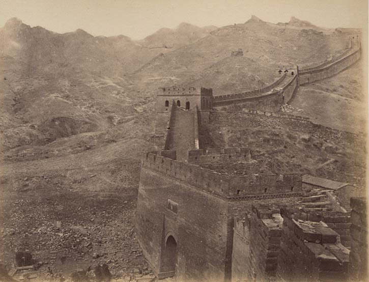 China-1889-1891-The Great Wall at Pa Ta Ling