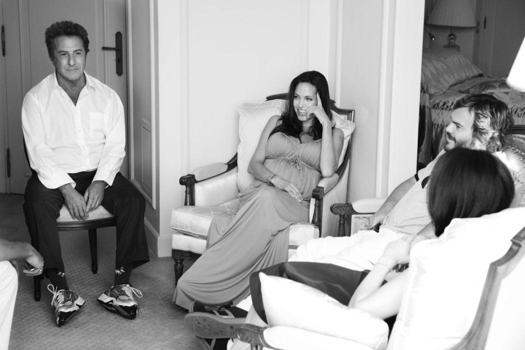 Dustin Hoffman, Angelina Jolie, Jack Black, Lucy Liu