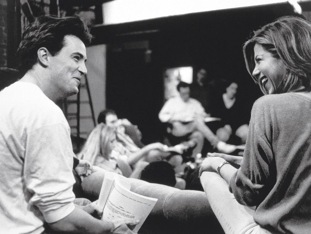 Matthew Perry and Jennifer Aniston