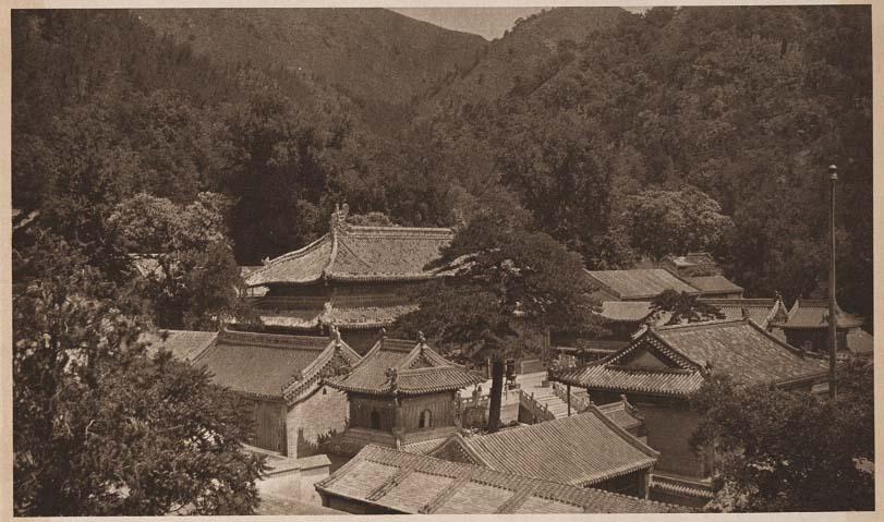 Peking-China-in-1920s-Tan Chueh Ssu - Western Hills