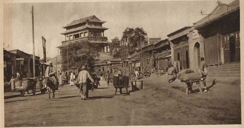 Peking-China-in-1920s-Te Shih Men - Gate of Victory