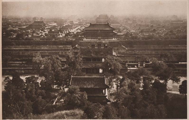 Peking-China-in-1920s-The forbidden City