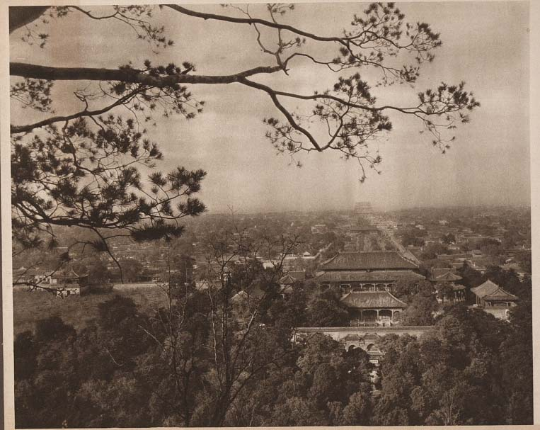 Peking-China-in-1920s-from Coal Hill