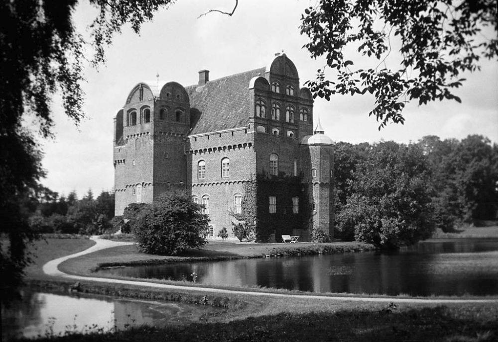 Hesselagergaard Renaissance manor on the island of Funen.