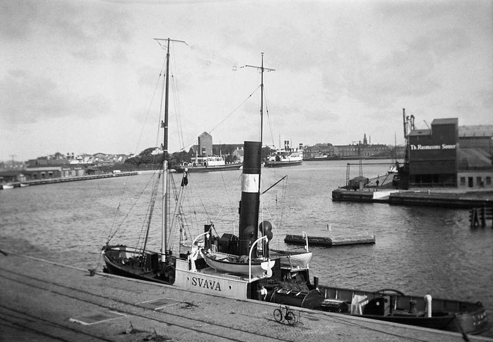 Port of Korsoer, Denmark, 1933