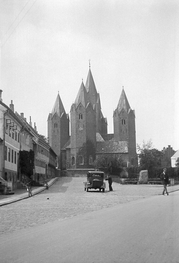 Vor Frue Kirke (Our Lady's Church) in Kalundborg, built in the 12th century.