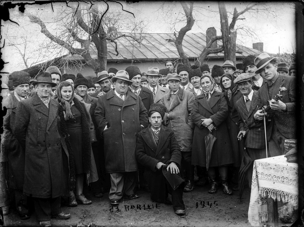 Glass-Plate Group Portraits from Romania (1940s) / Costică Acsinte / Public Domain