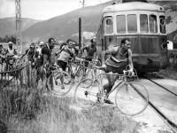 Historic Black and White images of Tour de France