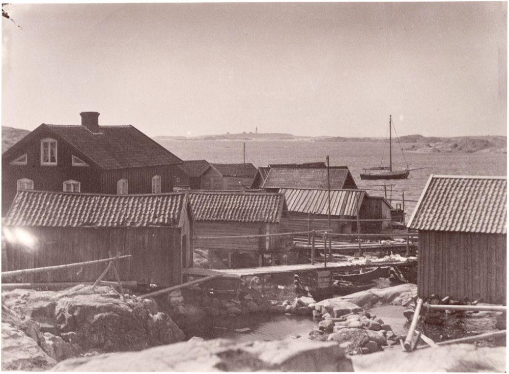 Västra Götaland, Orust, Käringön, Bohuslän, Miljöer-Bymiljö-Skärgårdsby