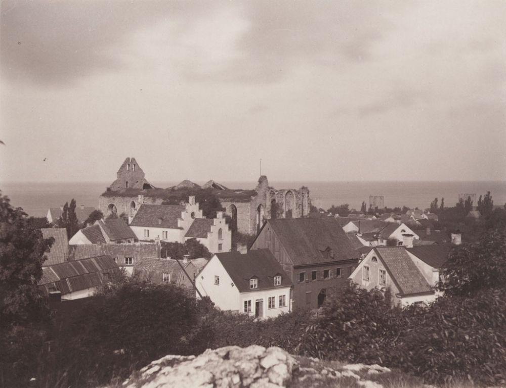 Gotland, Gotland, Visby, Gotland, Miljöer-Stadsmiljö