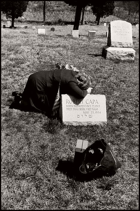 USA. Armonk, New York. 1954. Robert CAPA's mother, Julia.