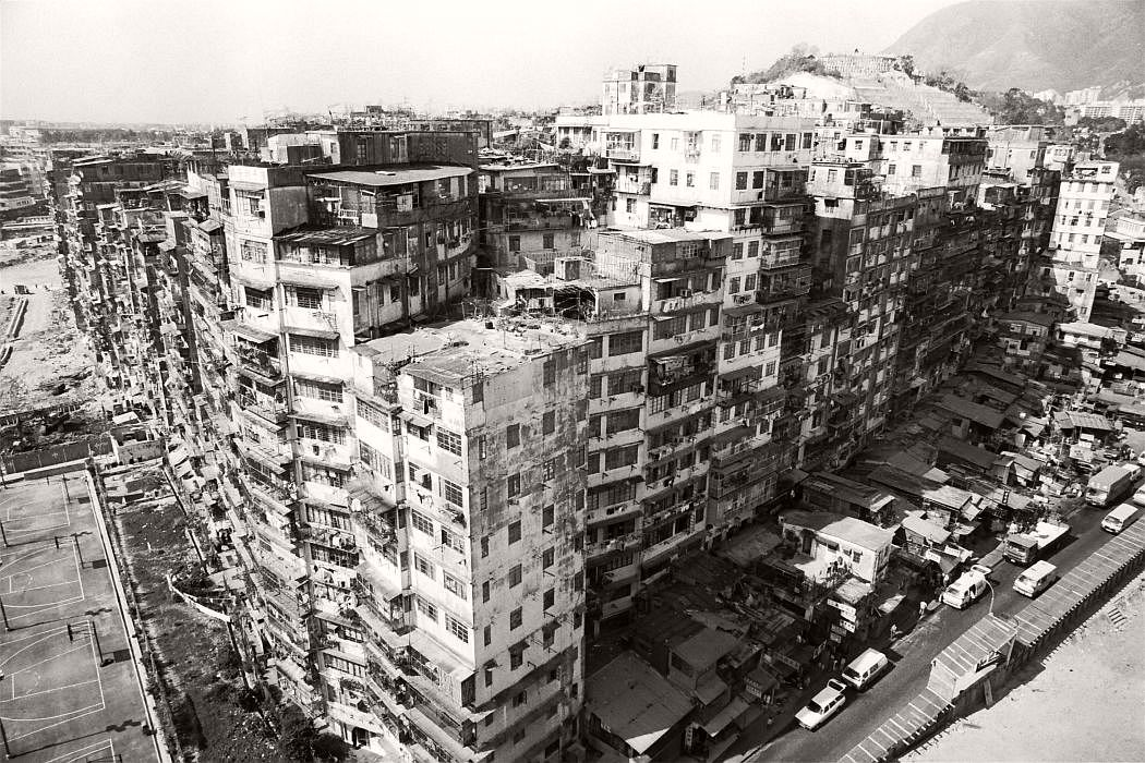 The notorious Kowloon Walled City, with 40,000 residents, is going to be torn down in three years time.