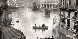 Vintage: Paris Under Water (1910)