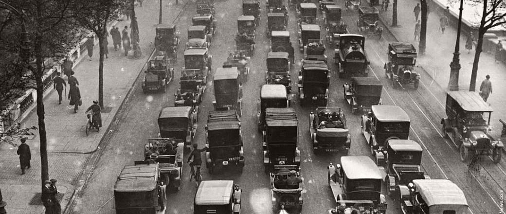 Vintage: General Strike in London, United Kingdom (1926)