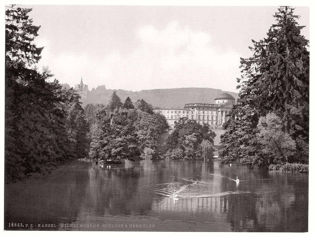 historic-bw-photo-german-Hesse-Nassau-castle-08