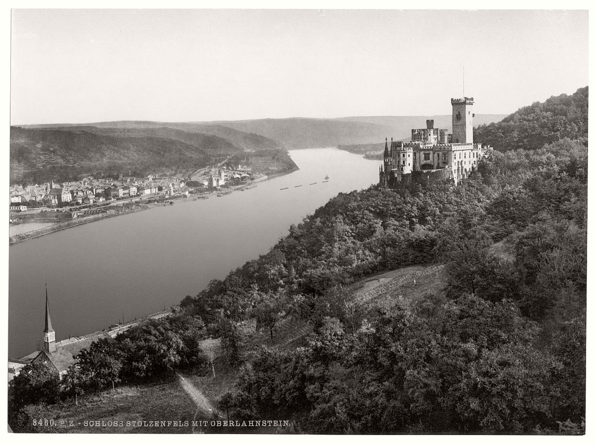 historic-bw-photo-german-Stolzenfels-Castle-15