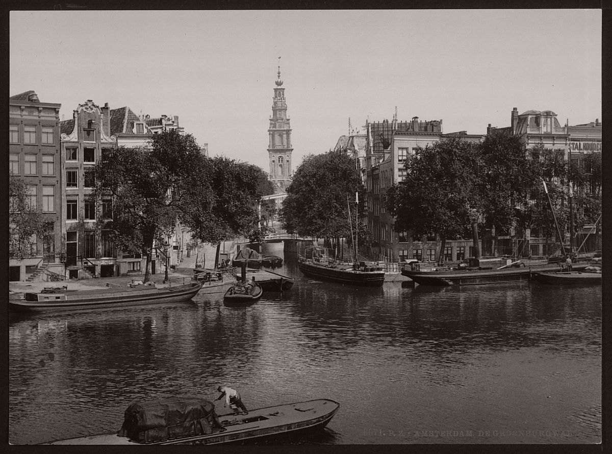 historic-bw-photos-of-amsterdam-holland-in-the-19th-century-11