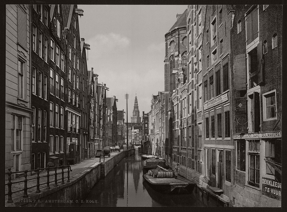 historic-bw-photos-of-amsterdam-holland-in-the-19th-century-13