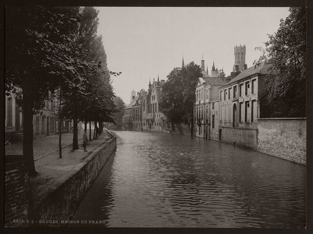 historic-bw-photos-of-bruges-belgium-in-19th-century-01