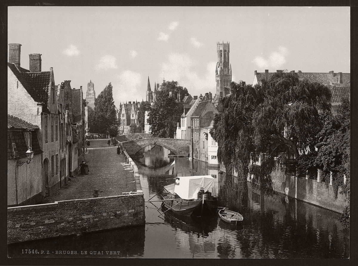 historic-bw-photos-of-bruges-belgium-in-19th-century-09