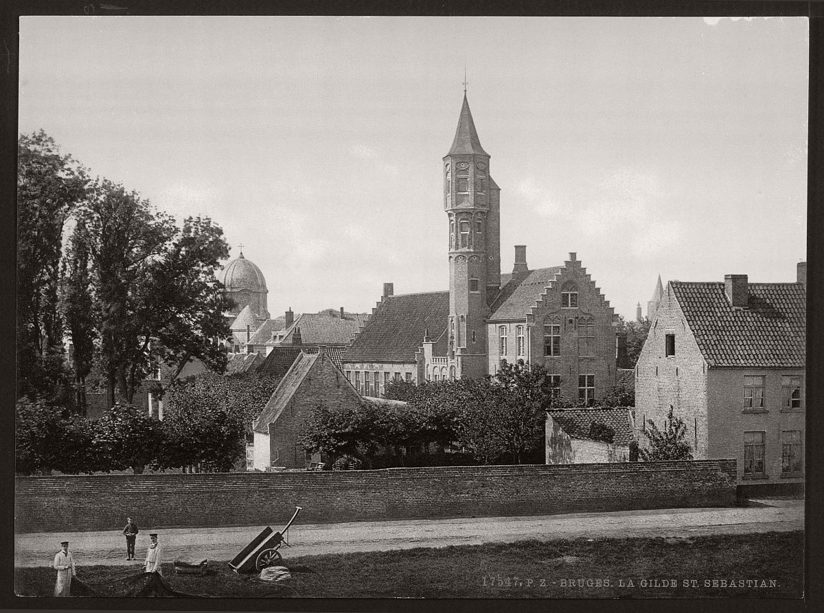 historic-bw-photos-of-bruges-belgium-in-19th-century-10